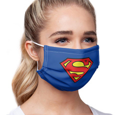 Funny, maskface, Masks, Superman
