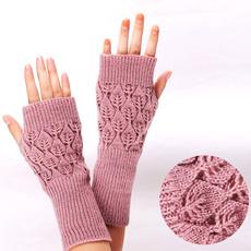fingerlessglove, longglove, Winter, knittedglove