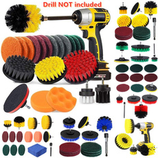 cardrillbrushset, electricdrillbrush, drillscrubberbrush, Electric