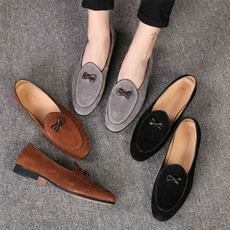 Flats & Oxfords, loafersslipon, leather shoes, moccasin