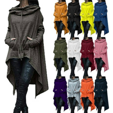Bat, Plus Size, hooded, asymmetric