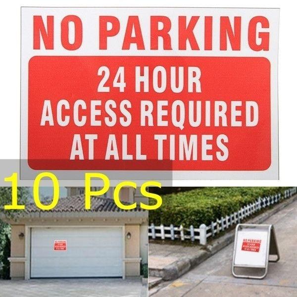 warningsign, Home Decor, warningsticker, noparkingsign