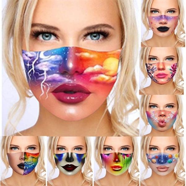 3dprintmask, womenmask, Cosplay, Fashion