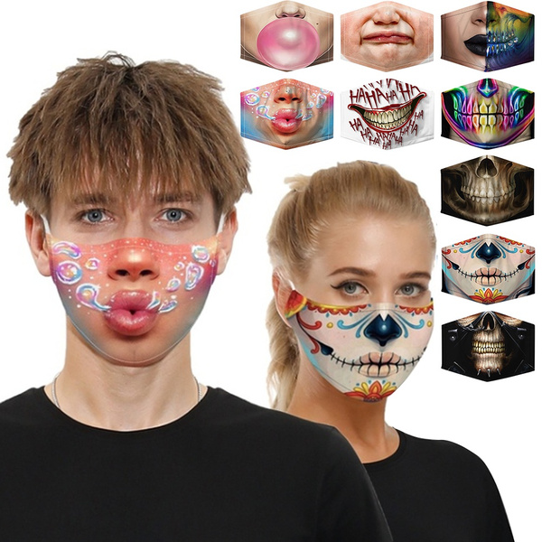 cartoonmask, 3dmouthcover, mouthmask, Gifts