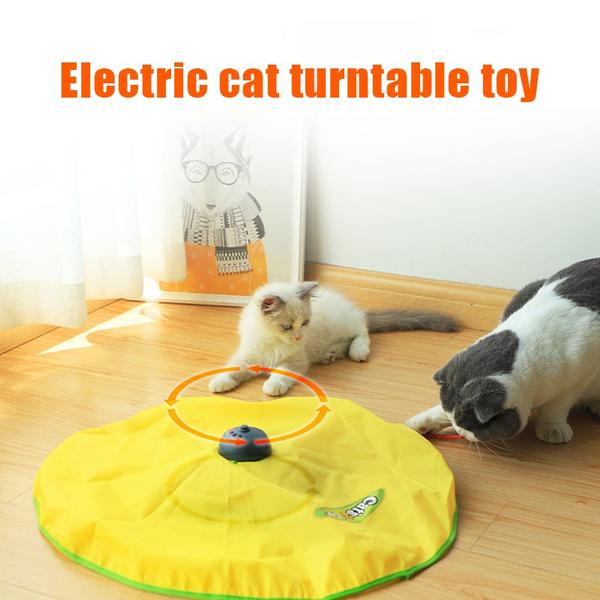 Plastic, rotating, Toy, petfoodmat