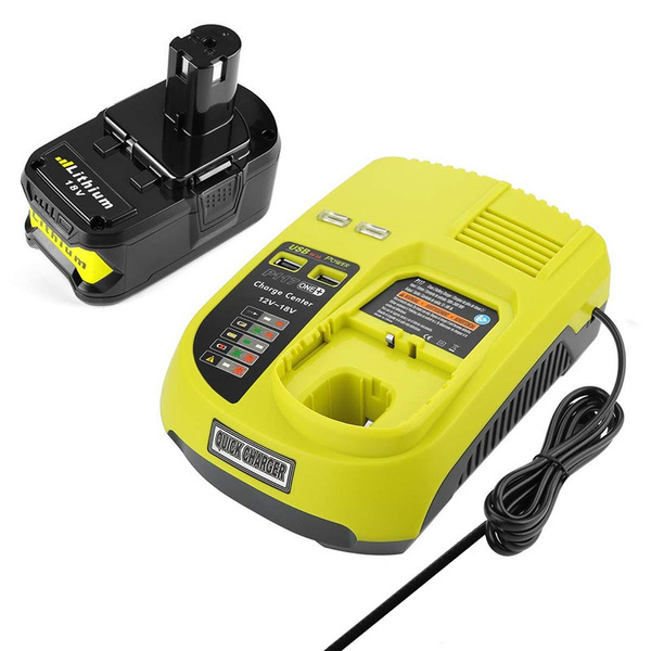 p117batterycharger, forryobibatterycharger, Battery, charger
