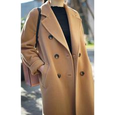 Fashion, womenovercoat, winter coat, Long sleeved
