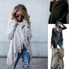 women pullover, autumnwinter, Tassels, Medium