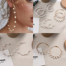 Fashion, Dangle Earring, Gifts, Pearl Earrings