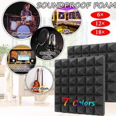 Indoor, wedge, soundinsulationfoam, soundwedge