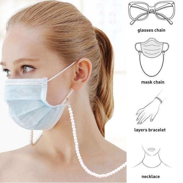 Fashion, Jewelry, Chain, Masks