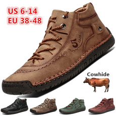 casual shoes, Fashion, Plus Size, leather shoes