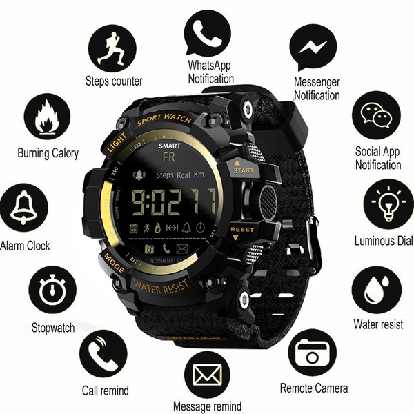 Outdoor, led, camping, Clock