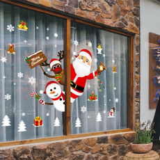Door, glasssticker, santaclaussticker, Stickers