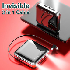 Data Cable, powerbankcharger, powerbankwithcable, Mobile Power Bank