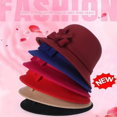 ladyhat, Fashion, Winter, bowknot