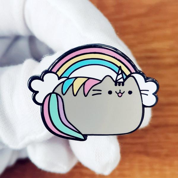 cute, Decor, rainbow, Pins