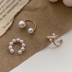 Earring Cuff, Jewelry, pearls, piercing