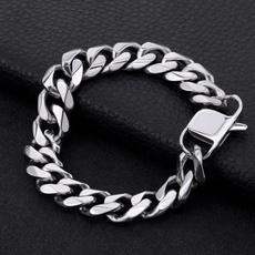 Heavy, Chain, Stainless Steel, miamicubanbracelet