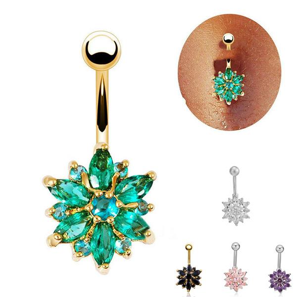 Steel, bellybuttondecoration, Jewelry, piercingjewelry