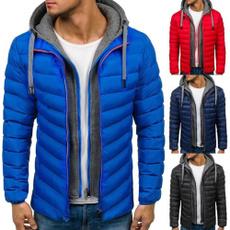 Moda, Invierno, Coat, Hombre