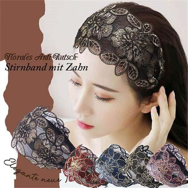 florallacehairband, hair, Wool, Lace