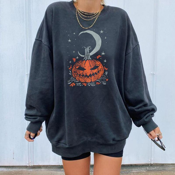 fashion clothes, fashion women, halloweenpumpkinsweater, sweatshirtsforcouple