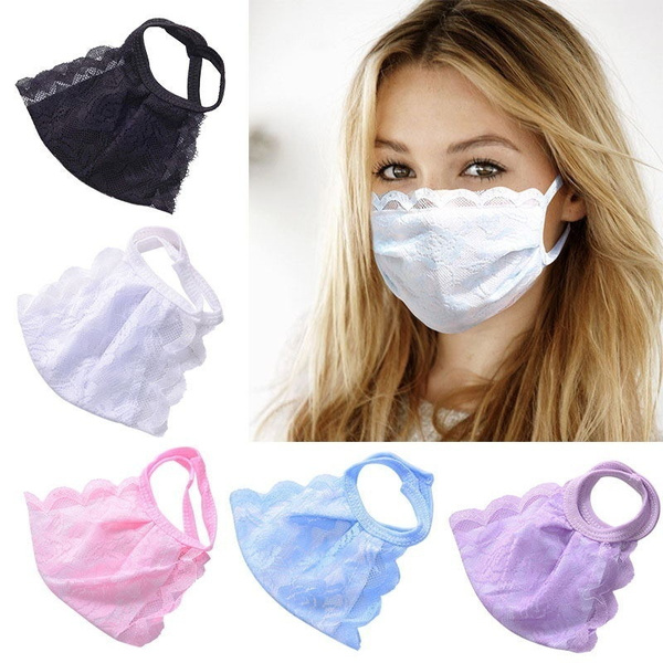 respirate, Summer, thinlacemask, Lace
