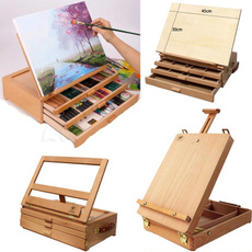 Box, Art Supplies, Adjustable, sketchboard