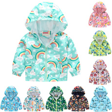 babycoat, hooded, Floral print, winter coat