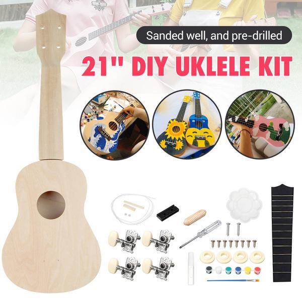 guitardiy, ukulele, Wooden, stringedinstrument