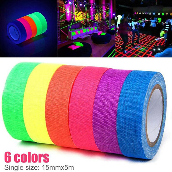 ducttape, fluorescenttape, uv, Neon