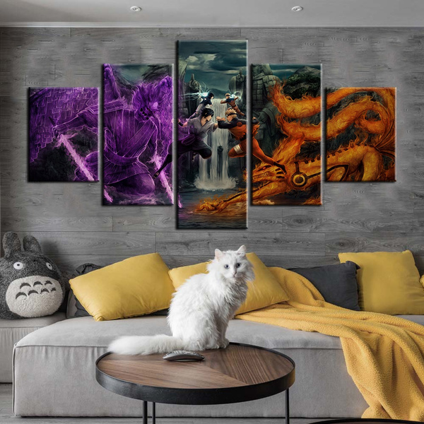 animeartworkpainting, narutopainting, walldecorpainting, Home Decor