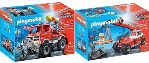 9465, playmobil, 9466, spielzeugfeuerwehrtruck