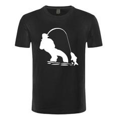 fishinger, Funny T Shirt, Shirt, Men
