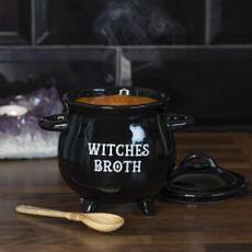 Ceramic, Halloween, wicca