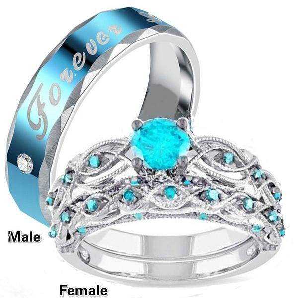 Couple Rings, ringsformen, Stainless, wedding ring