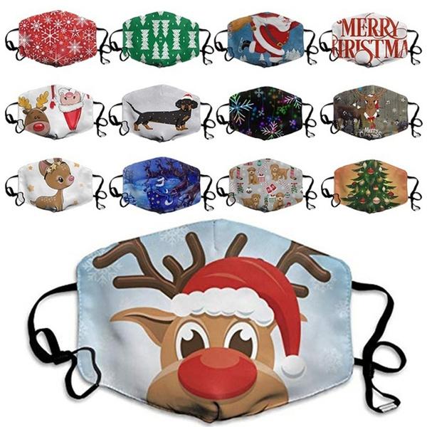 dustproofmask, mouthmask, Christmas, unisex