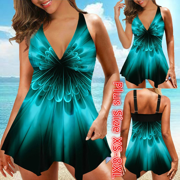 padded tankinis, Fashion, Tankini Set, plus size swimdresses