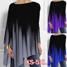 irregulartshirt, blouse, Plus Size, Tops & Blouses