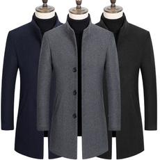 Casual Jackets, Fleece, Coat, Men
