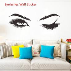Eyelashes, Decor, art, Home & Living