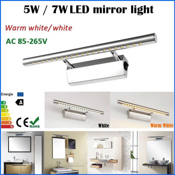Steel, walllight, Bathroom, Stainless Steel
