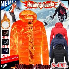 Fashion, warmjacket, Winter, hoodedjacket