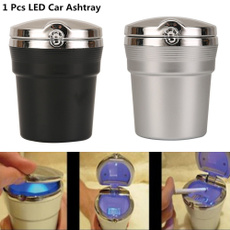 led, ashtraywithlid, Cars, alloyplating