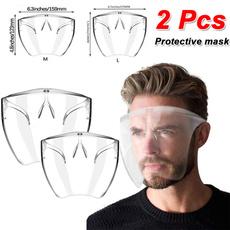transparentfacesheild, unisex, Masks, Goggles