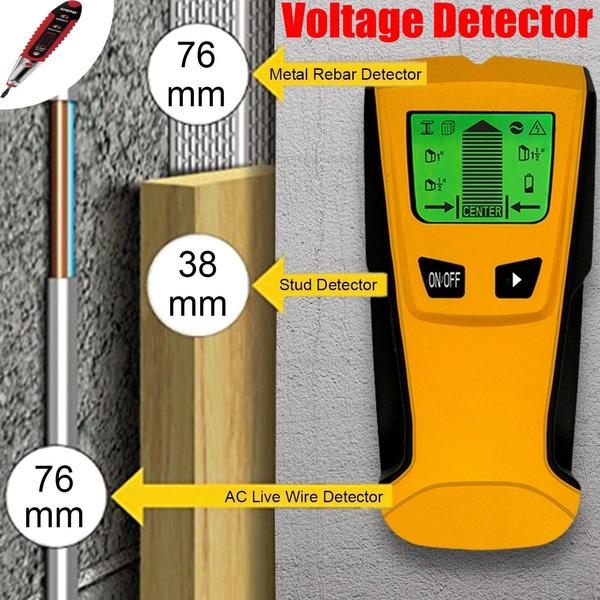 magneticstudfinder, 3in1metaldetector, Scanner, livewiredetector