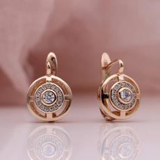 cute, anniversaryearring, Fashion, stainless steel earrings