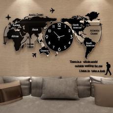silentwallclock, worldmapwallclock, mutewallclock, Clock
