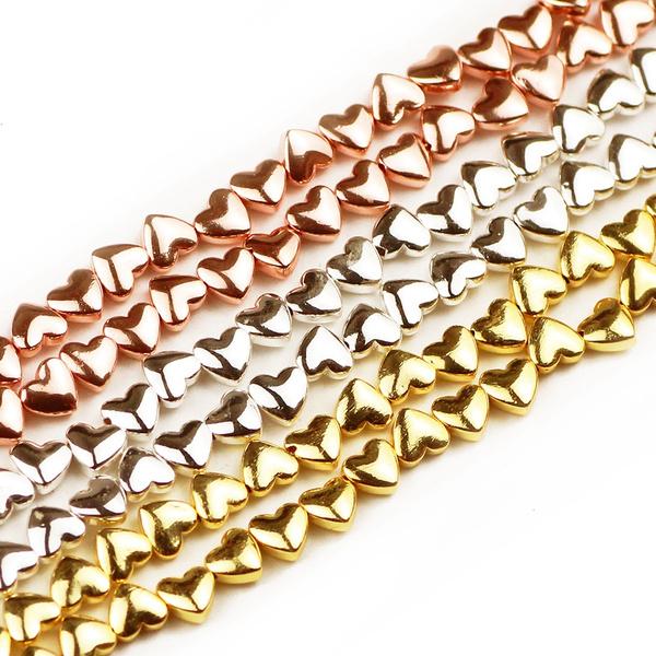 beadsforjewelrymaking, Heart, diybracelet, loosebeadsformaking